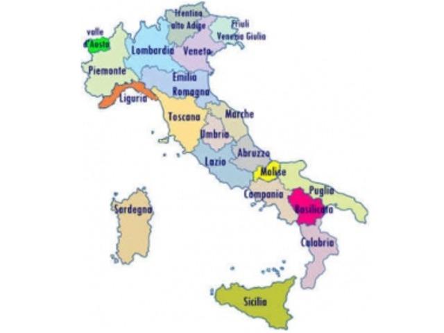 Italiai Tartomanyok Es Regiok Olaszorszagi Utazasok