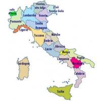 Itáliai tartományok és régiók