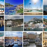 Itália 15 legszebb kikötője