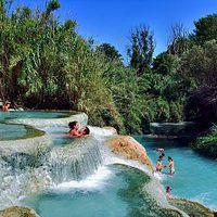 Toscana és különleges fürdővárosai