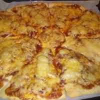 Pizza egy kis csavarral :)