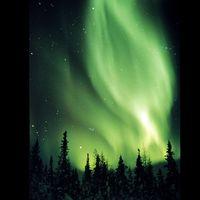 Aurora borealis a szobád falán