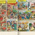 Történet címe: Hilfe, die Touristen kommen! 8-9.oldal