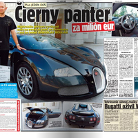 Az első Veyron Szlovákiában