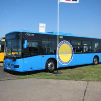 A főváros után bilikékek lesznek Pécs új buszai is