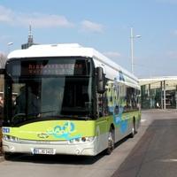 Lengyel elektromos busz Németországban