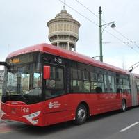 Az új Ikarus-Škoda Tr187.2-es trolibusz Szegeden