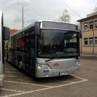 Karlsruhe spéci buszai