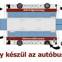 Így készül az autóbusz