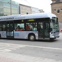 Hidrogénnel hajtott buszok