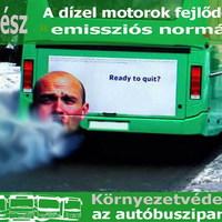 Környezetvédelem a busziparban I. - A dízelmotorok fejlődése, emissziós normák