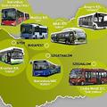 Hazai buszgyártók az elmúlt öt évben