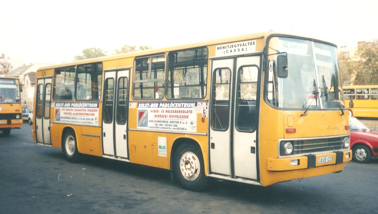 AVE-229, Ikarus 260.06, Rába D10 UTS155 motorral