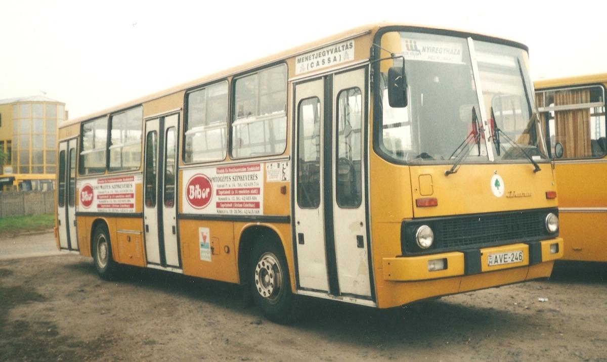 AVE-246 még nyíregyi kocsiként. Később Mátészalkára került.