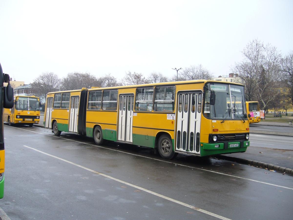 AVE-401, Ikarus 280.33, Kisvárdáról került át