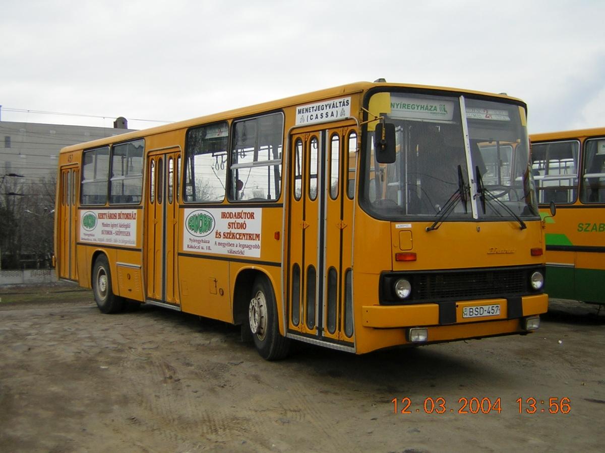 BSD-457, a köznyelvben csak BüdöSDisznó :) Ikarus 260.02