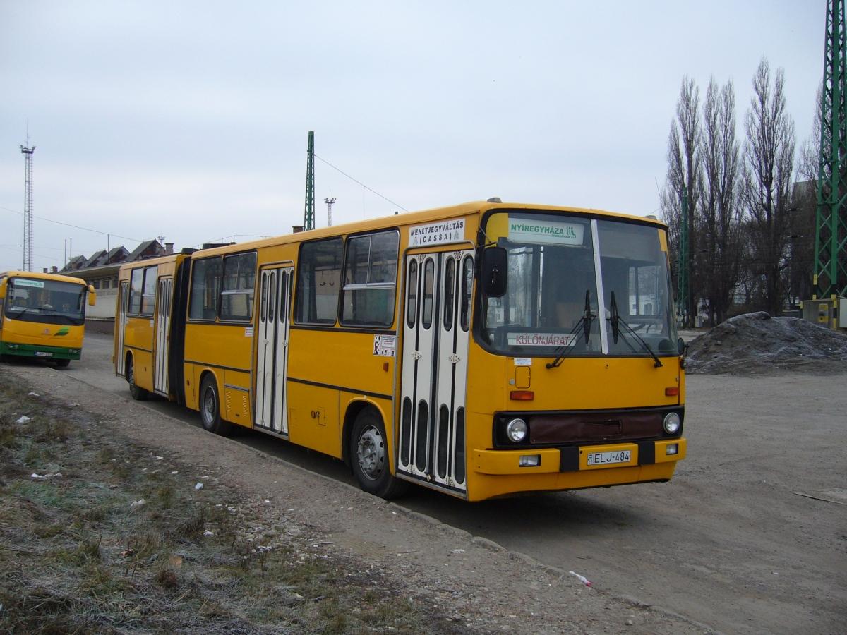 ELJ.484, Ikarus 280.02. Hamar átkerült a helyközi üzembe.