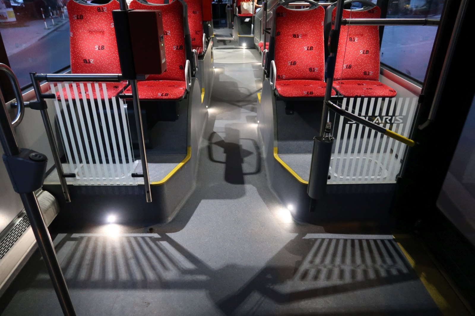 A szpotlámpás, látványos utastérvilágítás a MetroStyle csomag része.