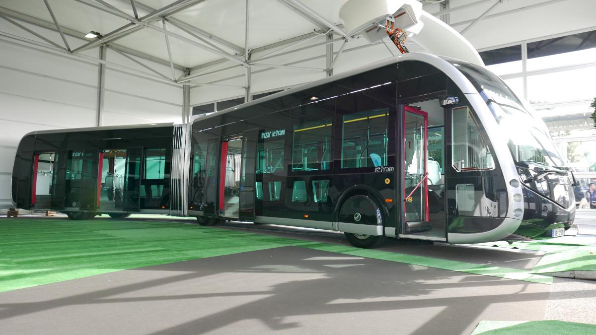 Irizar ie tram