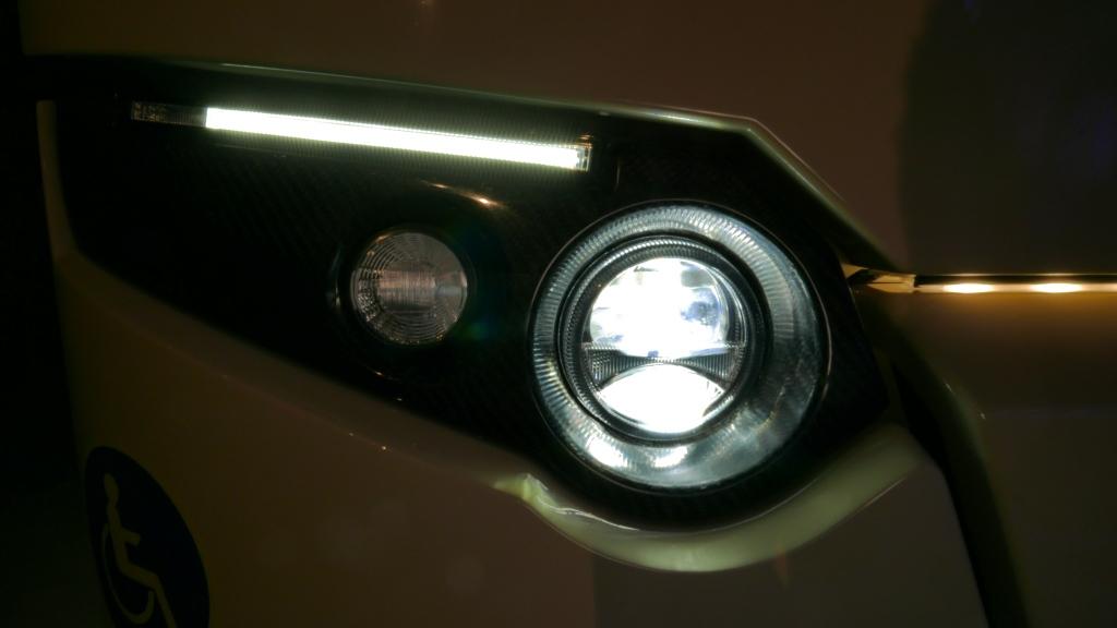 Bi-LED fényszórók.
