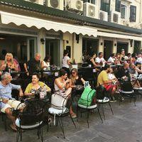 Korfu cafe time #korfu #kerkyra #grecce #travel #cafe #holiday