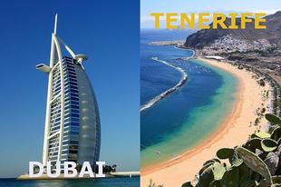 Melyik helyre mennél szivesebben nyaralni? #dubai #tenerife #travel #dreamtrips #success #onlinemarketing #onlinebusiness #smartbusiness