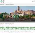 Elindult a Marketing21 angol nyelvű teszt weboldala