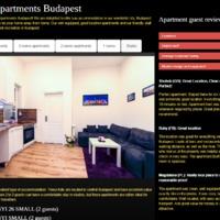 Megújul a Real Apartments Budapest kezdőoldala