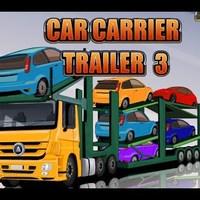 Autószállító kamion - Car Carrier Trailer