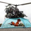 Drón helikopterek robot végtagokkal