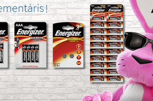 Energizer elemek!