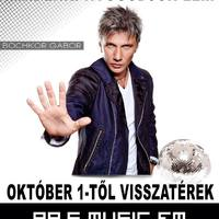 Holnap reggel már Bochkor Gábor várja a Music FM hallgatóit