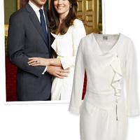 Napi ajánló: Kate Middleton, Nannette fehér ruhája újra kapható