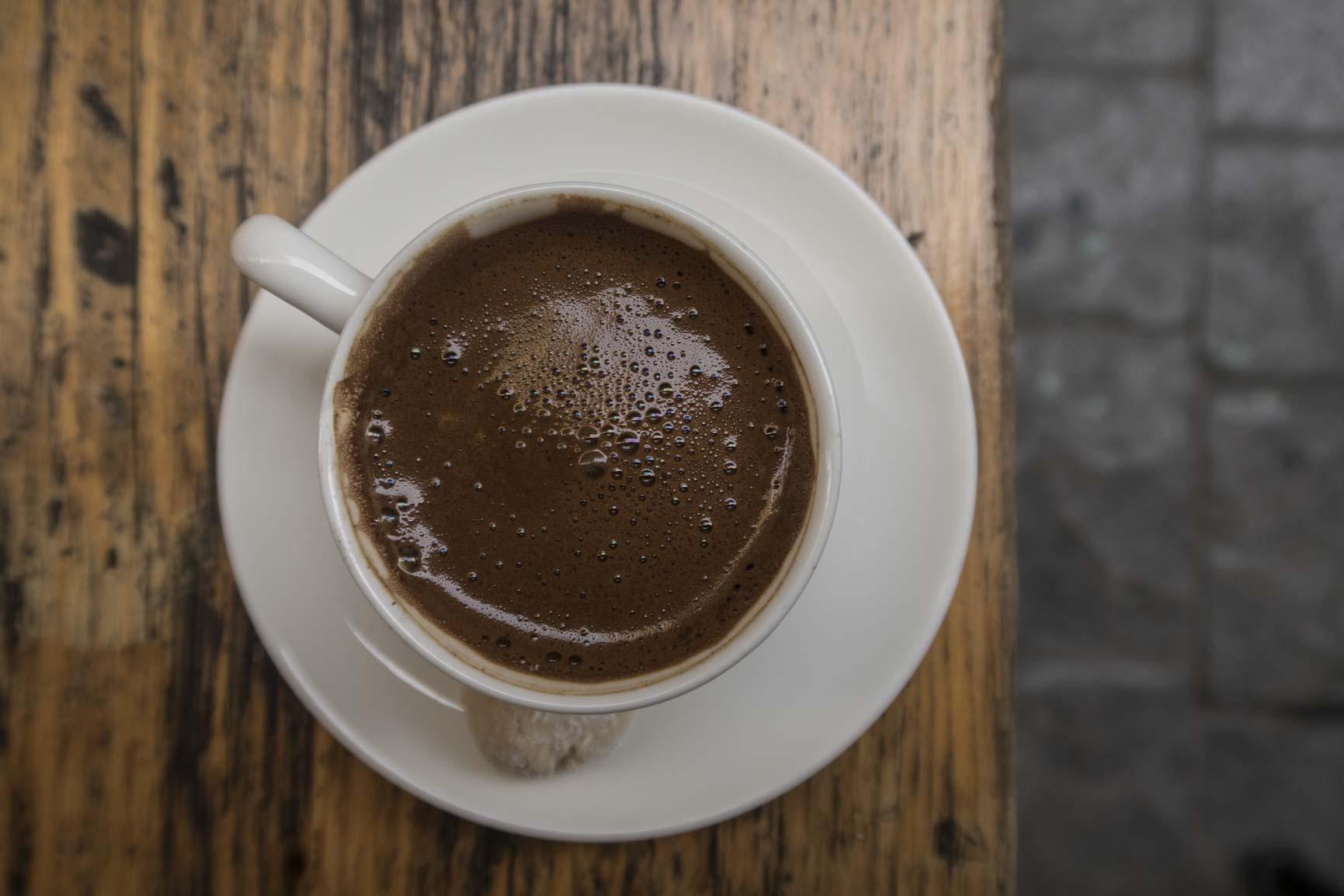 törok kávé