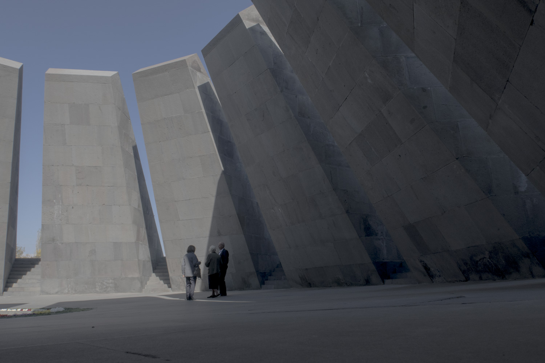 Az örmény népírtás emlékműve