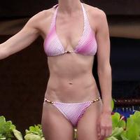 Nude Beach: Hilary Swank