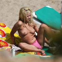 Nude Beach: Peaches Geldof
