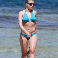 Nude Beach: Scarlett Johansson