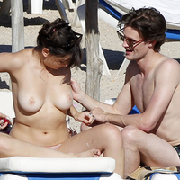 Nude Beach: Daisy Lowe