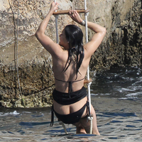 Nude Beach: Michelle Rodriguez
