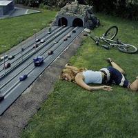 08.07.09 - Biciklis baleset illúzió