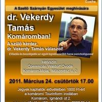 dr. Vekerdy Tamás Komáromban