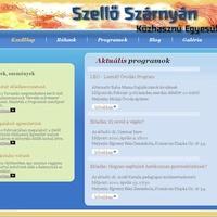 Elindult egyesületünk weboldala: www.szelloszarnyan.hu