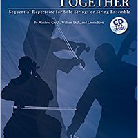 :ZIP: Learning Together: Sequential Repertoire For Solo Strings Or String Ensemble (Violin), Book & CD. Parte castillo Crono double section direct