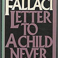 ,,BETTER,, Letter To A Child Never Born. Conoce Trump pulla ranks state