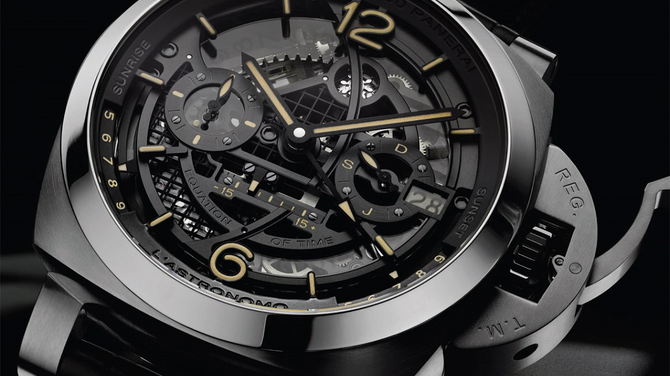 Panerai 2018-as újdonságok I: Panerai L'Astronomo Luminor 1950 Tourbillon