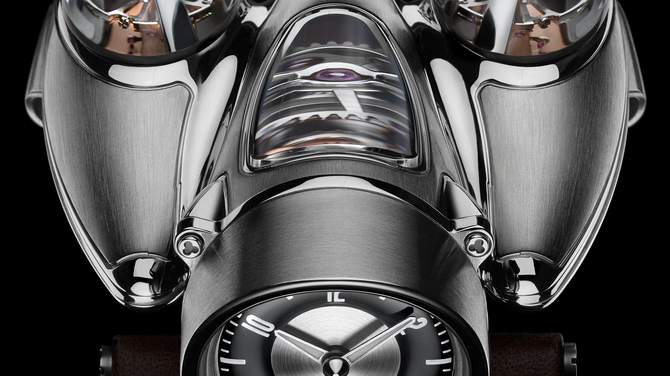 Ötven millióért ilyen óra is van: MB&F Horological Machine No. 9 'HM9' Flow