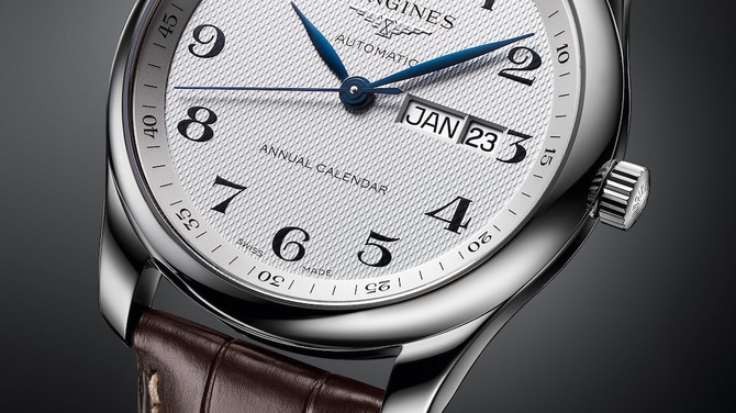 Longines 2018-as újdonságok II: Longines Master Collection Annual Calendar