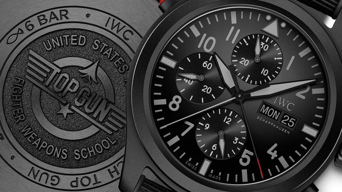 IWC Pilot's Watch 2019-es újdonságok I: Double Chronograph Top Gun Ceratanium