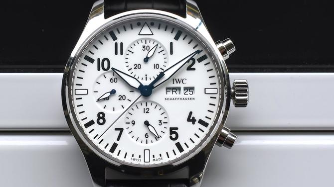 "2018-as IWC újdonságok: IWC Pilot's Watch Chronograph ""150 Years"""
